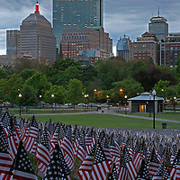 Boston photography from New England based fine art photographer Juergen Roth showing the Garden of American Flags in the Boston Common on Memorial Day. The Military Heroes Garden of American flags in Boston Common displays nearly 37000 American flags, each flag represents the lost life of a fallen service member from Massachusetts since the Revolutionary War (1775 to 1783) to the present in 2014. Visitors are reminded of the essence of the Memorial Day holiday through this deeply moving site.<br /> <br /> This Boston photography image of the Public Common and the Garden of American Flags is available as museum quality photography prints, canvas prints, acrylic prints or metal prints. Prints may be framed and matted to the individual liking and wall decoration needs: <br /> <br /> http://juergen-roth.artistwebsites.com/featured/memorial-day-juergen-roth.html<br /> <br /> Good light and happy photo making!<br /> <br /> My best,<br /> <br /> Juergen<br /> http://www.exploringthelight.com<br /> http://www.rothgalleries.com<br /> @NatureFineArt<br /> http://whereintheworldisjuergen.blogspot.com/<br /> https://www.facebook.com/naturefineart