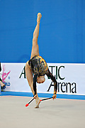Lu Cindy during qualifying at clubs in Pesaro World Cup at Adriatic Arena on 27 April 2013.<br />