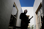 Martin Luther McCoy performs during a portrait session at his home on Friday, May 12, 2017, in San Francisco, Calif. He is scheduled to perform a tribute to Otis Redding at SFJAZZ Center on June 10, 2017.