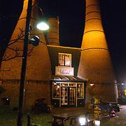 Restaurant de kalkovens Havenstraat Huizen ext.