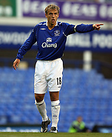 Photo: Paul Thomas.<br />Everton v Werder Bremen. Pre Season Friendly. 31/07/2007.<br /><br />Captain Phil Neville of Everton.