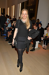 ASTRID HARBORD at Fashions for The Future presented by Oceana's Junior Council held at Phillips Auction House, 30 Berkeley Square, London on 19th March 2015.