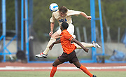 UCLA Men's Soccer. Photo by Don Liebig.