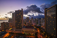 Waikiki District @ Twilight