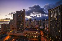 Waikiki District @ Twilight
