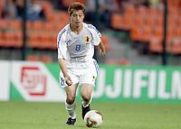 FOTBALL - CONFEDERATIONS CUP 2003 - GROUP A - JAPAN v COLOMBIA  - 030622 - MITSUO OGASAWARA (JAP) - PHOTO JEAN MARIE HERVIO / DIGITALSPORT