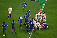 Rugby Union - 2020 Autumn Nations Cup - Final - England vs France - Twickenham<br /> <br /> England's Luke Cowan-Dickie scores his sides last minute try leading to extra time after Owen Farrell's conversion .<br /> <br /> COLORSPORT/ASHLEY WESTERN