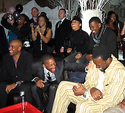 "**EXCLUSIVE**.Boris Kodjoe, Will Smith, Jada Pinkett Smith & Charles ""Charlie Mac"" Alston.Will Smith's best friend and confidant, Charles ""Charlie Mac"" Alston 40th Birthday Party.PM Lounge.New York City, NY, United States .Sunday, December 18, 2005 .Photo By Celebrityvibe.com/Photovibe.com.To license this image please call (212) 410 5354; or.Email: sales@celebrityvibe.com ;.Website: www.celebrityvibe.com ....."