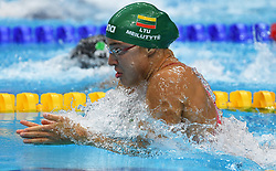 Ruta Meilutyte of Lituania in the 50 m. breaststroke style during the 17th FINA World Championships in Budapest, Hungary, on July 29, 2017. Photo by Giuliano Bevilacqua/ABACAPRESS.COM