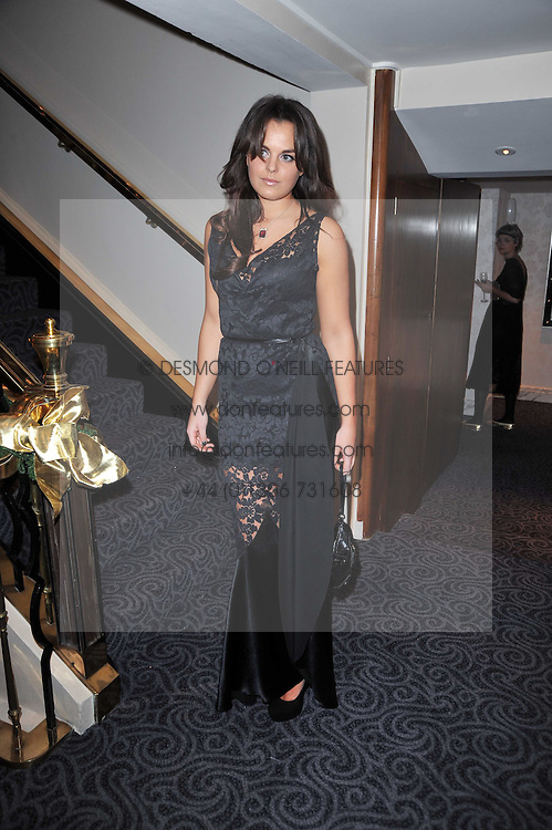 MOLLY MILLER-MUNDY at Quintessentially's 10th birthday party held at The Savoy Hotel, London on 13th December 2010.