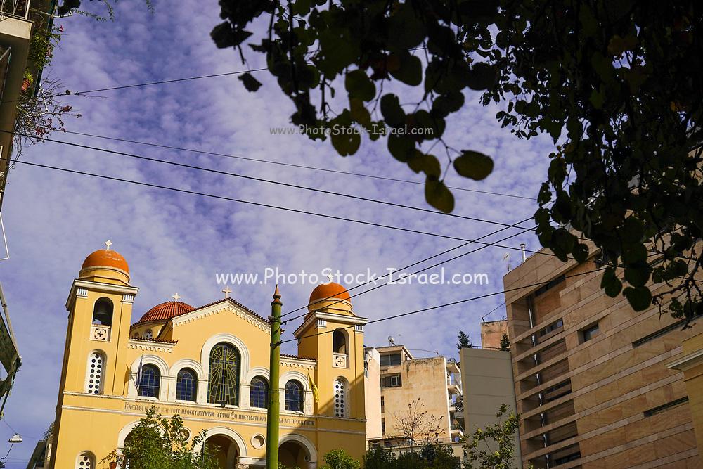 St Spyridon (St. Spiridon of the Stadium or St. Spiridon of Pangrati) Church in the Stadion area, Athens, Greece