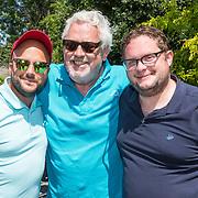 NLD/Brielle/20190614 - Bekend Nederland golft voor Afrika, Ernst Daniël Smid met Jon Karthaus en Diederik Jekel