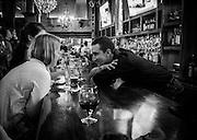 Life of a bartender, Hawk n Dove, Washington, DC. <br /> <br /> PHOTOS/John Nelson