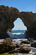 Crystal Cove Arch Rock Laguna Beach California