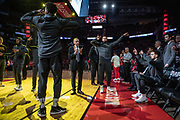 during Game 6 of the Western Conference Semifinals at Toyota Center in Houston, TX on Friday May 10, 2019.