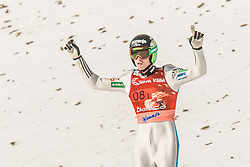 Anze Semenic of Slovenia during the Ski Flying Hill Men's Team Competition at Day 3 of FIS Ski Jumping World Cup Final 2017, on March 25, 2017 in Planica, Slovenia. Photo by Grega Valancic / Sportida