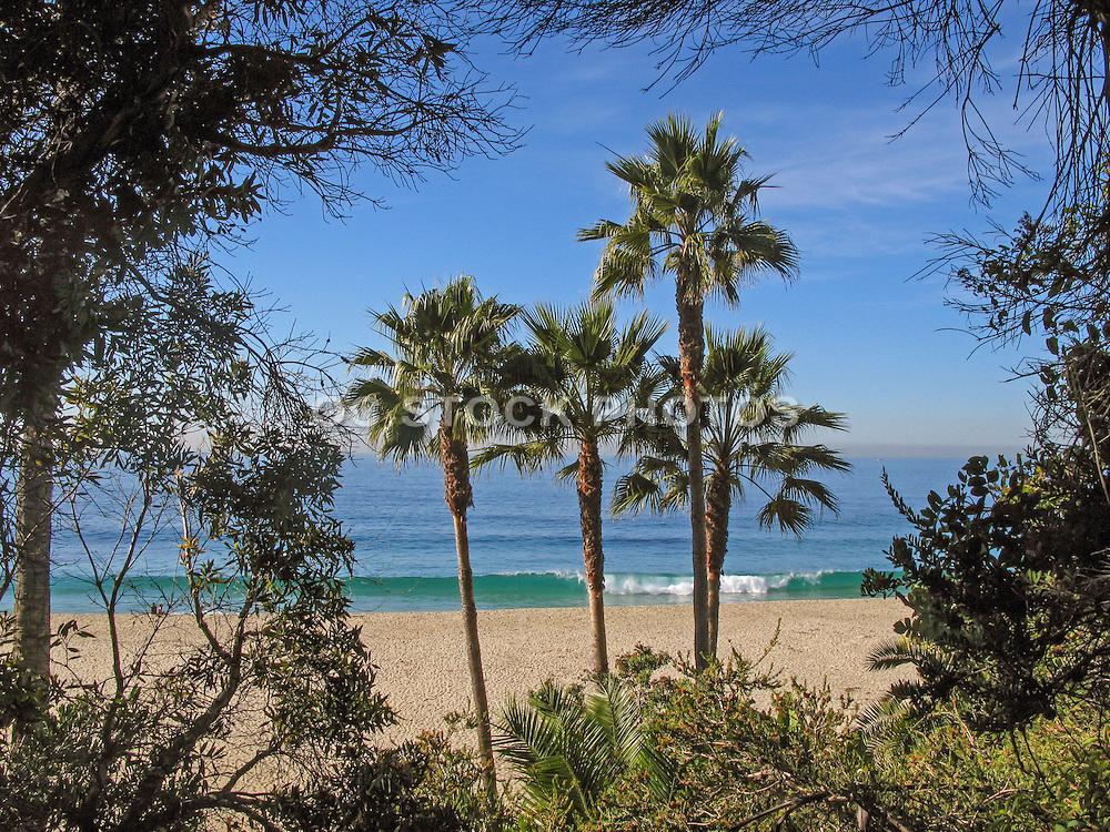 Thousand Steps Beach in Laguna Beach California