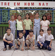 Class picture for kids in Hue,