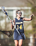Naperville North High School Huskies O'Fallon Township High School Panthers Girls Lacrosse Photography by Chicago Sports Photographer Chris W. Pestel