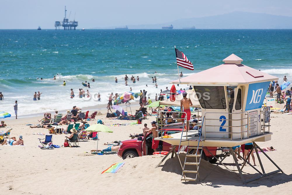 Huntington Beach Lifeguard Tower 2
