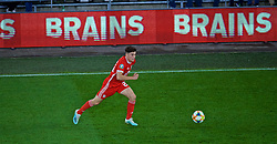 CARDIFF, WALES - Friday, September 6, 2019: Wales' Daniel James during the UEFA Euro 2020 Qualifying Group E match between Wales and Azerbaijan at the Cardiff City Stadium. (Pic by Paul Greenwood/Propaganda)