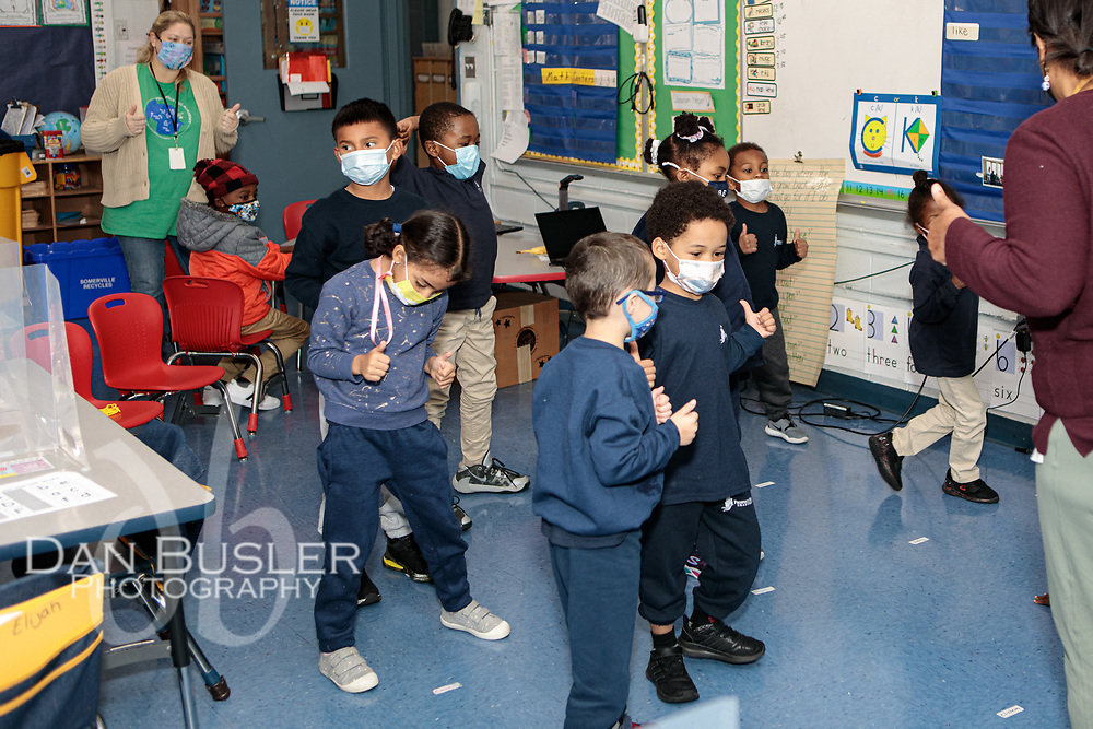 Prospect Hill Academy Charter School Pre-K  photo session on October 1, 2021