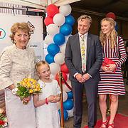 NLD/Heiloo/20180420 - Prinses Margriet bij jubileum Holland Bulb Market, Prinses Margriet