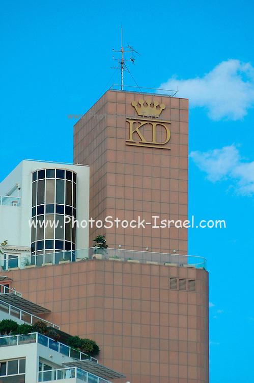 king david hotel building in Tel Aviv, Israel
