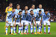 Argentina team group - Argentina vs. Portugal - International Friendly - Old Trafford - Manchester - 18/11/2014 Pic Philip Oldham/Sportimage