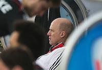 NEW DELHI -  De Duitse coach Markus Weise tijdens de kwart finale van  de finaleronde van de Hockey World League tussen de mannen van Nederland en Duitsland . ANP KOEN SUYK