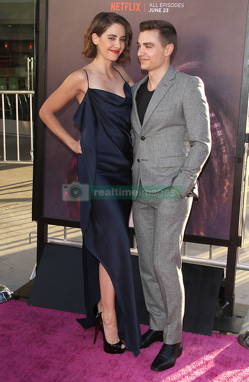 'GLOW' TV show premiere -Los Angeles. 21 Jun 2017 Pictured: Alison Brie, Dave Franco. Photo credit: Jaxon / MEGA TheMegaAgency.com +1 888 505 6342
