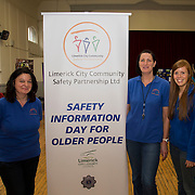 01.10.14            <br /> The Limerick City Community Safety Partnership will host a Safety Information Day for Older People. The event will feature important personal and home safety information for older people. Nutritional advice, occupational therapy, and care and repair demonstrations will also be provided. Advice and literature on a range of issues will be provided on the day by agencies including An Garda Síochána, Limerick City and County Council, Home Instead Senior Care, Limerick Fire and Rescue Service and the HSE. <br /> Attending the event at St. Johns Pavilion were, Jean Ryan, Yvonne McMahon and Ann Marie Hogan. Picture: Alan Place.