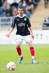 Falkirk's Kris Faulds..Falkirk's Football Club's last game of season 2011-2012..Falkirk 3 v 2 Ayr United, 5/5/2012..©Michael Schofield..
