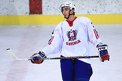 Davor Rakanovic at friendly ice-hockey game between Slovenian National Team U20 and HKMK Bled, before World Championship Division 1, Group A in Herisau, Switzerland, on December 11, 2008, in Bled, Slovenia. (Photo by Vid Ponikvar / Sportida)