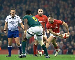 Gareth Davies of Wales<br /> <br /> Photographer Simon King/Replay Images<br /> <br /> Under Armour Series - Wales v South Africa - Saturday 24th November 2018 - Principality Stadium - Cardiff<br /> <br /> World Copyright © Replay Images . All rights reserved. info@replayimages.co.uk - http://replayimages.co.uk
