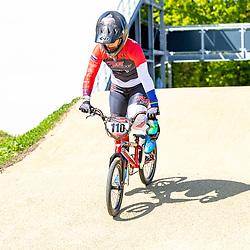 05-05-2020: Wielrennen: BMX KNWU: Papendal<br />De BMX'ers met A status mochten weer trainen