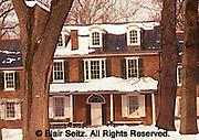 Wheatland Estate, President Buchanan's home, winter