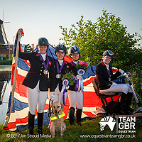 Saturday 24 August - Social Media Images - Team GBR - FEI European Championships 2019 - Rotterdam