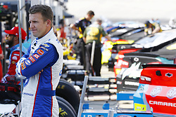 April 13, 2018 - Bristol, Tennessee, United States of America - April 13, 2018 - Bristol, Tennessee, USA: AJ Allmendinger (47) hangs out on pit road before qualifying for the Food City 500 at Bristol Motor Speedway in Bristol, Tennessee. (Credit Image: © Chris Owens Asp Inc/ASP via ZUMA Wire)