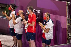 Ferrer-Salat Beatriz, ESP, Elegance, 123, Team Spain<br /> Olympic Games Tokyo 2021<br /> © Hippo Foto - Dirk Caremans<br /> 27/07/2021
