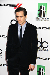 21.10.2013, Beverly Hilton Hotel, Beverly Hills, USA, Annual Hollywood Film Awards Gala, im Bild Jake Gyllenhaal // Jake Gyllenhaal during a photoshooting for the 17th Annual Hollywood Film Awards Gala held at the Beverly Hilton Hotel in Beverly Hills, United States on 2013/10/23. EXPA Pictures © 2013, PhotoCredit: EXPA/ Photoshot/ Photoshot/ Izumi Hasegawa<br /> <br /> *****ATTENTION - for AUT, SLO, CRO, SRB, BIH, MAZ only*****