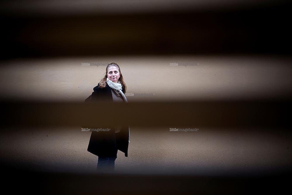Oslo, Norge, 05.03.2013. Samar Yazbek er alawitt og syrer. Hun har skrevet bok om krigen, og er i Oslo i forbindelse med Saladin dagene på Litteraturhuset. Foto: Christopher Olssøn.