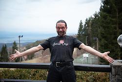 Portrait of carovnik Grega (Grega Sulejmanovic), Slovenian magician, on March 4, 2020, on Hocko Pohorje, Slovenia. Photo: Milos Vujinovic /Sportida