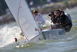 Medemblik - the Netherlands, May 31th 2009. Delta Lloyd Regatta in Medemblik (27/31 May 2009). Day 5, Medal races.
