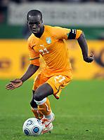 Fotball<br /> Tyskland v Elfenbenskysten<br /> Foto: Witters/Digitalsport<br /> NORWAY ONLY<br /> <br /> 18.11.2009<br /> <br /> Cheik Tiote<br /> Fussball Elfenbeinkueste