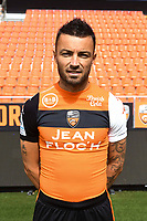 Gael Danic during photoshooting of FC Lorient for new season 2017/2018 on September 12, 2017 in Lorient, France. (Photo by Philippe Le Brech/Icon Sport)