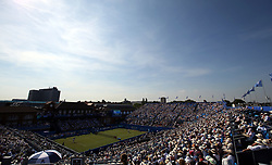 General view of Great Britain's Andy Murray during his match against Australia's Jordan Thompson during day two of the 2017 AEGON Championships at The Queen's Club, London.