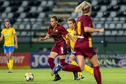 Naomi Clipston of Cadiff Met during football match between ZNK Pomurje and Cardiff Met in 1st Round of WUCL qualifying 2019/20, on Avgust 7, 2019 in Fazanerija, Murska Sobota, Slovenia. Photo by Blaž Weindorfer / Sportida