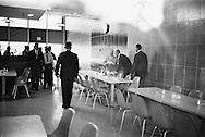 1959 Nikita Khrushchev in IBM's headquarters in California.<br /> <br /> 1959 Nikita Khrouchtchev au siège d'IBM en Californie .