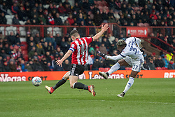 Middlesbrough's Adama Traore (right) scores his side's first goal of the match